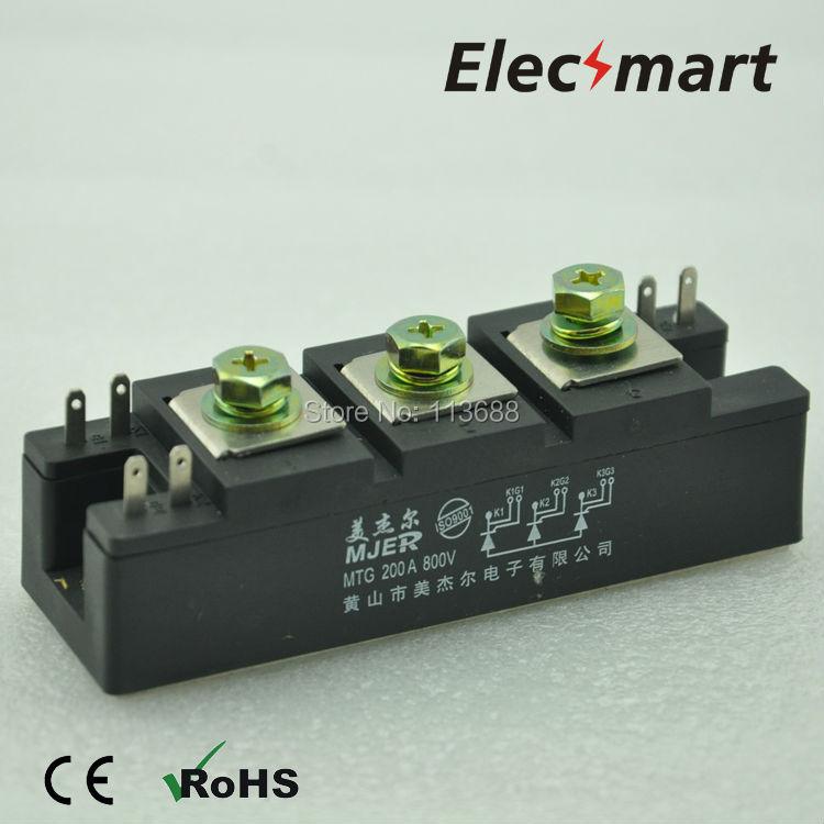 Non-isolated Thyristor Module MTG200A 1600V mtc250a 1600v pk250 thyristor modules good quality