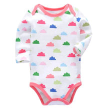 Baby Girls Clothes Babies Boys Romper Newborn Toddler Long Sleeve 0-24 Months Body One Piece Infant Clothing(China)
