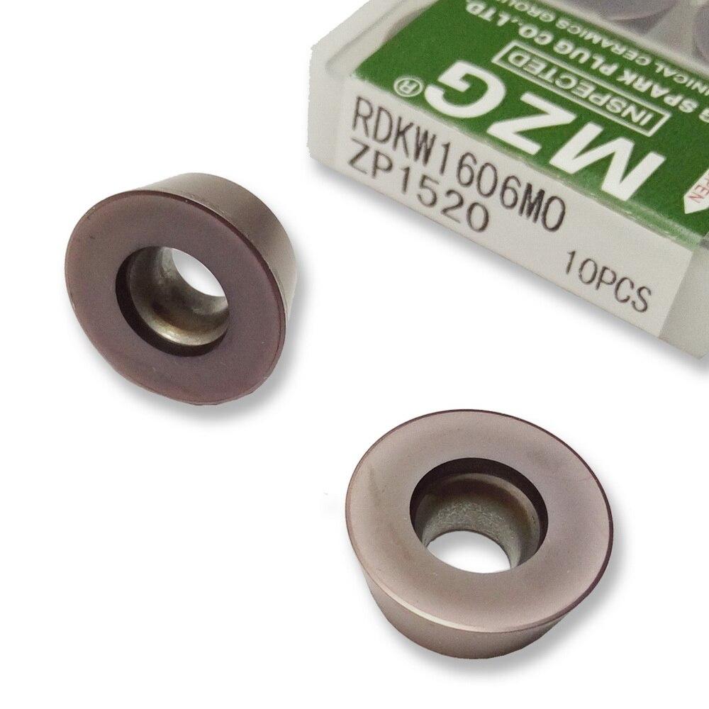 MZG фрезерование RDMT10T3 RDMT1204 MZ Y063 карбид круглый нос поворотный портальный Фрезерный резак Металлокерамические вставки для обработки стали
