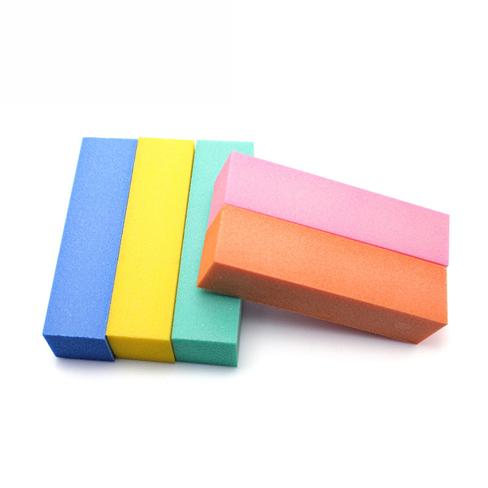 Professional Soft Four Sides Nail Art Files Buffer Block Manicure Tool Buffing Sanding Polish tool Kit Set Wholesale