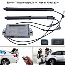 Car Electric Tail gate lift special for Nissan Patrol 2016 Easily for You to Control Trunk mat trunk for nissan patrol 2010 внед lengths polyurethane
