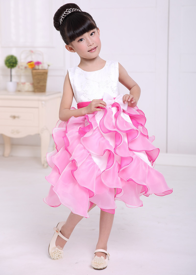 Kids Summer Clothes Princess Evening Girls Formal Dress Baby Childrenu0026#39;s Costumes Baby Wedding ...