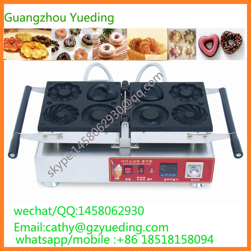 Commercial donut maker manufactures/doughnut machine/donut machine commercial manual donut doughnut maker machine and electric deep fryer