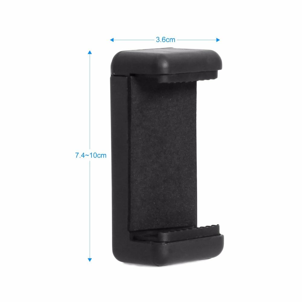 Universal Smartphone Holder Clip Mount Bracket Stands Selfie Stick For Tripod E-type Extendable Holder (2)