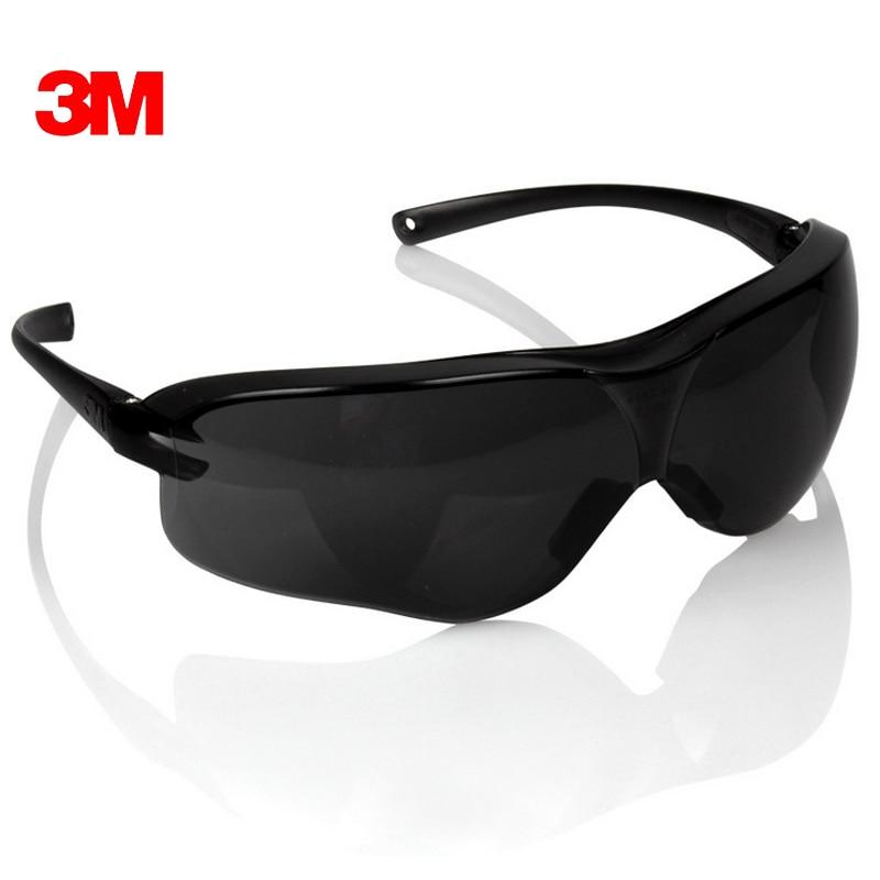 3 м 10435 Детская безопасность Potective черные очки Очки для защиты от УФ Солнцезащитные очки для женщин Анти-туман ударостойкой анти-пыли Средств...