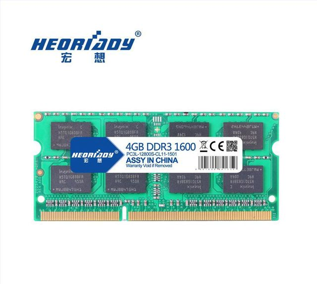 DDR3L 1600 4gb laptop RAM bar compatible 1333 Type  8 or 16 chip