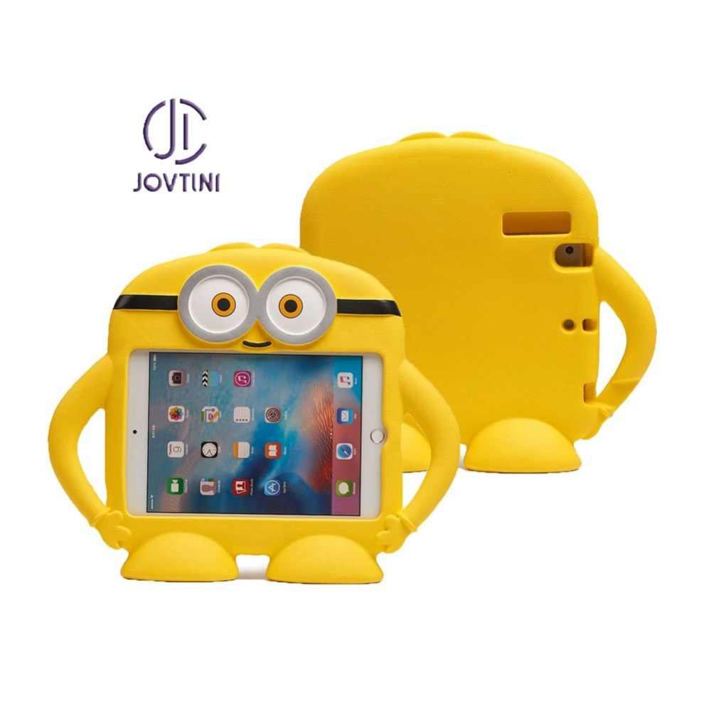 Case Voor iPad mini 1/2/3/4/5 Kleine gele man EVA Foam Shockproof Hand -held Stand Kids Tablet Cover Voor iPad mini1/2/3/4/5 Case
