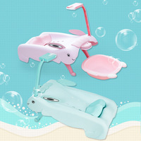 Children's Shampoo Chair Shampoo Bed Folding Large Baby with Mobile Phone Bracket Shampoo Chair Kids Furniture