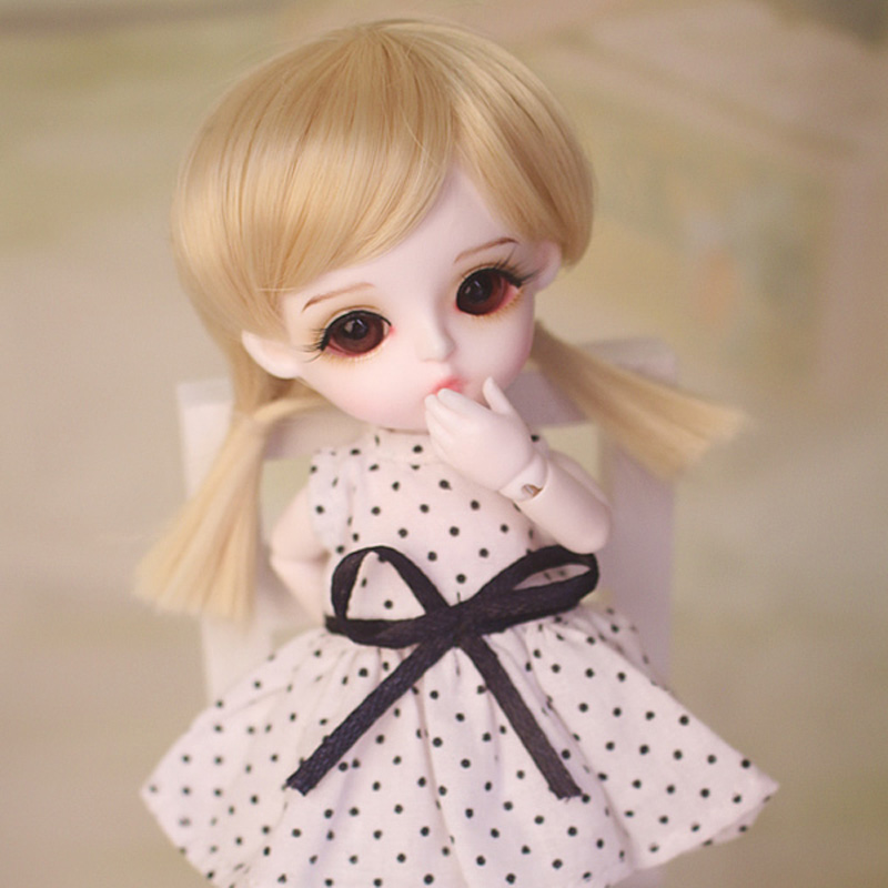 New Arrival 1/8 BJD Doll BJD/SD Cute Lovely Lina Baby Miu Resin Joint Doll With Eyes For Baby Girl Birthday Gift Full Set 1 8 bjd doll bjd sd fashion cute miu with eyes for baby girl gift full set doll clothes shoes wig like picture