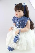 28″ 70CM Hot Sale Silicone Reborn Baby Dolls For Sale Dolls ARIANNA Lifelike Hobbies Realistic Classic Toys  Dolls For Girls