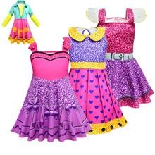 Autumn Girls hot Lol Dress Unicorn Birthday Party Costumes Baby Girl Long-sleeve Costume A-line Full Sleeve Princess