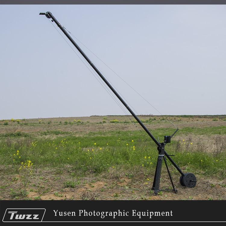 Twzz 4 м Камера подъемный рычаг видео Грю Кливера коромысла для DSLR фильм Особенности фильм видео съемный