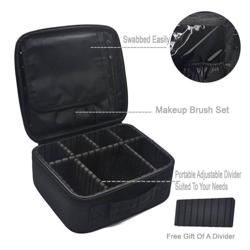 Neceser Cosmetic bag Per lo stoccaggio Vanity Women Professional kit - Organizzazione e deposito in casa - Fotografia 4