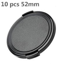 Universal 52mm Tampa Da Lente Da Câmera Tampa Da Lente Frontal Cap Proteção para Canon/para nikon 52mm Lente DSLR