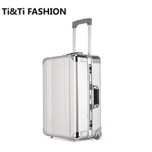 Original Ruitto Trolley Case Aluminum Magnesium Alloy All Metal Document Suitcase Travel Suitcase 20 inch Boarding Bag Trunk