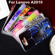 Soft TPU Plastic Phone Case For Lenovo A2010 A2580 A2860 4.5 inch a 2010 Protective Shell Bags Hoods Housing Shield Phone Skin