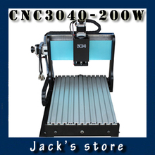 3040Z-DQ+, CNC3040 300W cnc router wood PCB engraving machine milling carving machine CNC 3040 cnc machine
