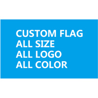 5x7FT Polyester we design any logo any color Custom gift single side flag 150x210cm banner