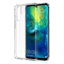 Lantro Phone Case for Huawei P30 Pro Transparent color Fitted Luxury Soft Silicone Protector