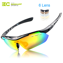 New Cycling Glasses Polarized Colorful Women Men Outdoor Sports Bike Windproof Sunglasses 5 Lens Bicycle Eyewear Cycling Glasses