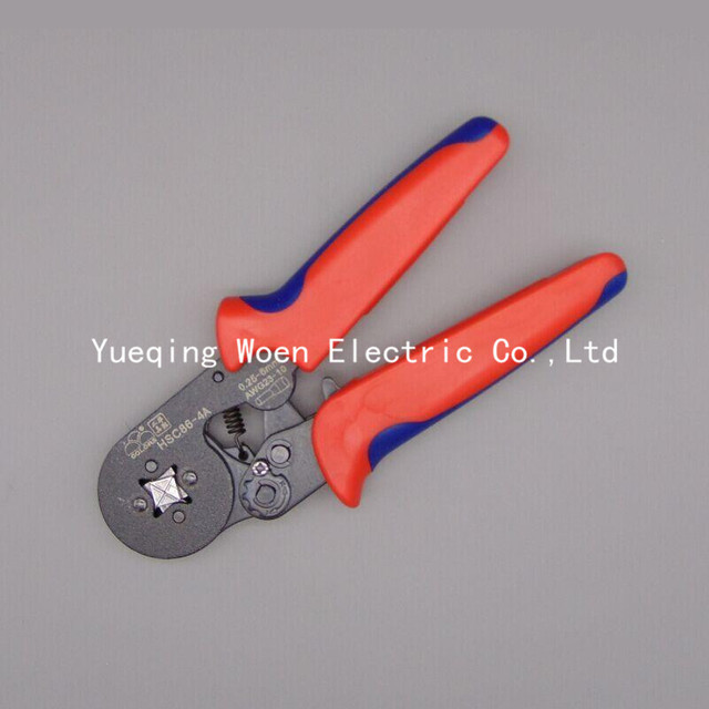 HSC8 6 4A 23 10AWG Terminal Crimping Tool Bootlace Ferrule Crimper ...