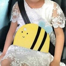 Детская защита регулятор ремня безопасности Детская безопасность накладки на ремень безопасности с милым животным узором Новинка