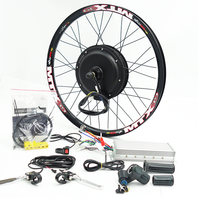 US $402 5 |48V 72V 3000w E Bike Kit 90km/h max speed with 7speed  freewheel-in Electric Bicycle Motor from Sports & Entertainment on  Aliexpress com |
