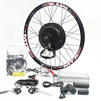 48V 72V 3000w E Bike Kit 90km/h max speed with 7speed freewheel
