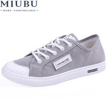 MIUBU Men Casual Shoes Fashion Canvas Breathable Lace-Up Flats Espadrilles Tenis Masculino Esportivo