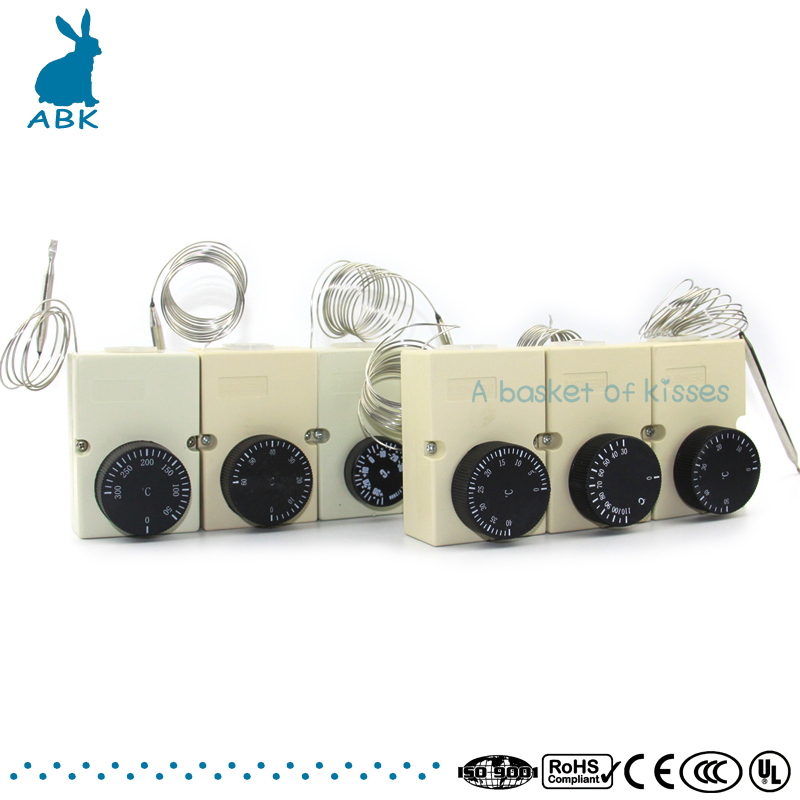 Water proof mechanical knob temperature controller Pet box thermostat. Low cost and high quality thermostat