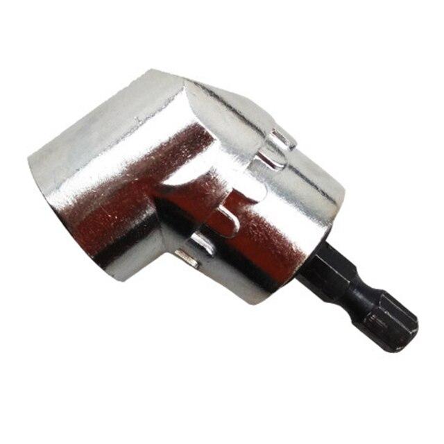 Super PDR outils 105 degrés tournevis à tête à Angle droit 1/4 tige hexagonale pour perceuse électrique tournevis Bits outils