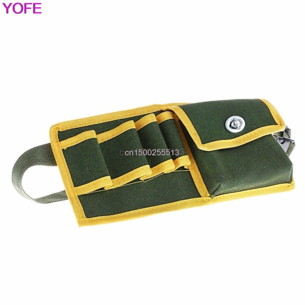 Carpenter Rig Hammer Tool Bag Waist Pockets Electrician Pouch Holder Pack Men Utility Pouch Belt Bag