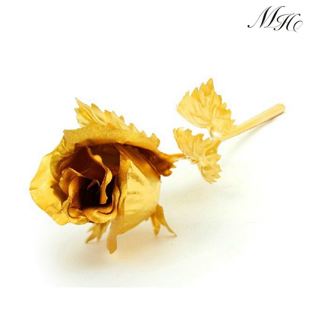 Aliexpress Com Buy Wr Romantic Rose 24k Gold Dipped: Aliexpress.com : Buy WEDDING GIFT 24K Gold Plated Dipped