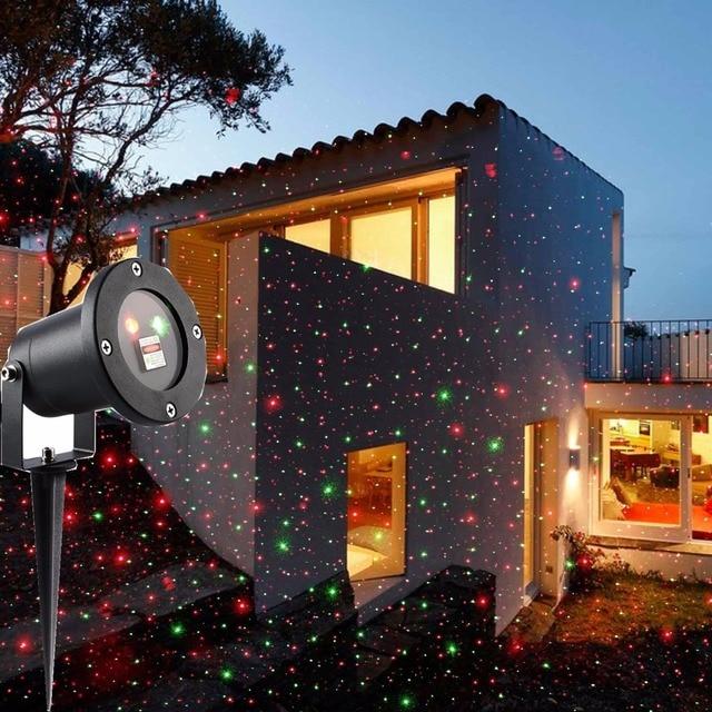 Proiettore Luci Laser Natalizie.Us 50 6 Proiettore Luci Di Natale Con Telecomando Proiettore Laser Esterno Ip65 Impermeabile Di Illuminazione Per La Casa Yard Paesaggio In