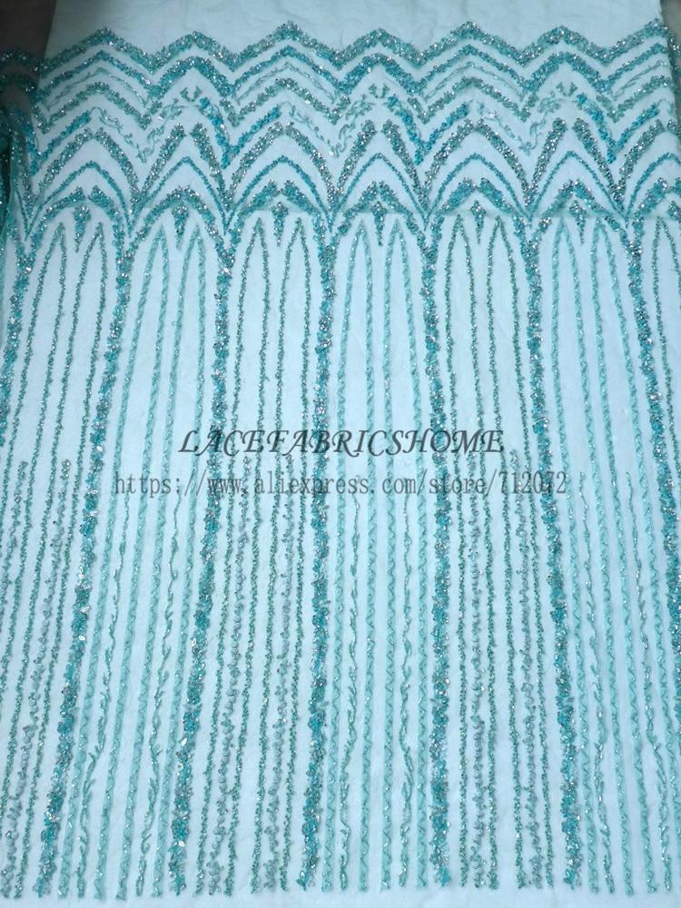 La belleza hot hot fashion style grün / schwarz / grau perlen spitze - Kunst, Handwerk und Nähen - Foto 3