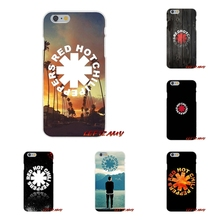 04fdb6d2c49 Red Hot Chili Peppers Rhcp Rock Band para iPhone X 4 4S 5 5S 5C SE 6 6 s 7  8 Plus accesorios fundas de teléfono