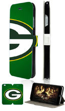 Stand Mobile Phone Bags Green Bay Packers 2 Card Slot Luxury Leather Flip Case Cover For