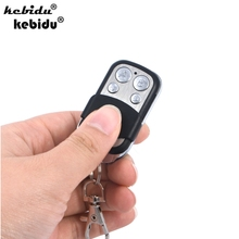 kebidu 433Mhz Universal Wireless Remote Control Receiver Module RF Transmitter Electric Cloning Gate Garage Door Auto Keychain