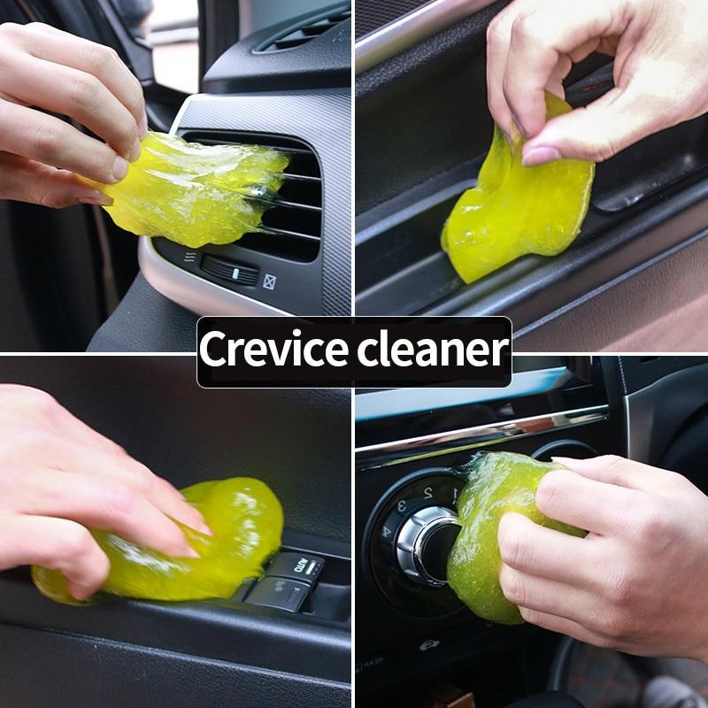 Губка для мойки автомобиля продукты авто Универсальный кибер супер чистый клей микрофибры пыли Инструменты грязи гель продукты