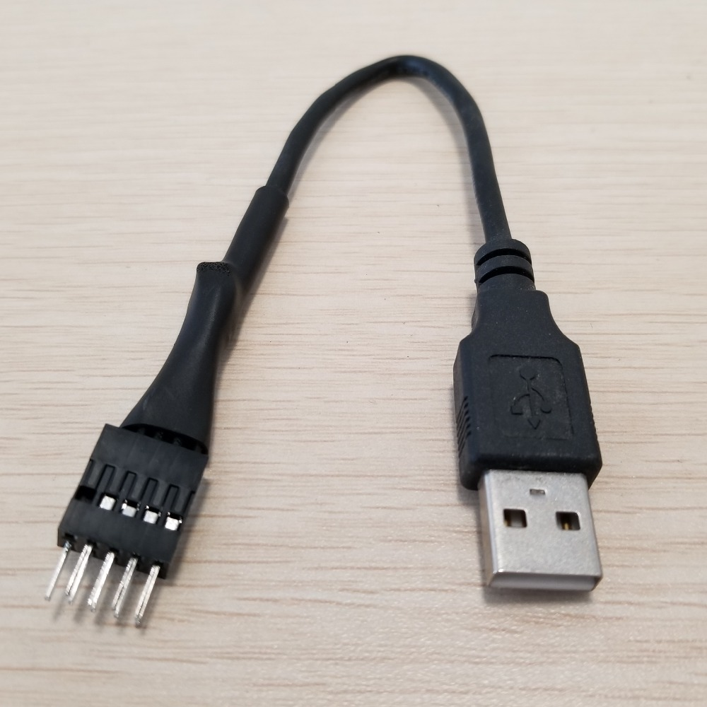Motherboard Internal Usb 9pin External Usb A Male To Male