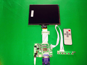 """Image 2 - HDMI/VGA/AV Control Driver Board + 8""""inch HE080IA 01D 1024*768 IPS high definition LCD Display For Raspberry Pi"""
