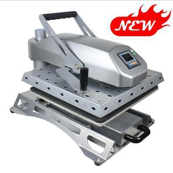 worktable 40x60cm Specialty Swing-away & Pull-out Drawer hand t shirt heat press machine cheap manual swing away heat press machine for flatbed print 38 38cm