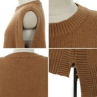 MCCKLE для женщин с круглым вырезом вязаный жилет осень 2018 г. женский Fahion без рукавов шерстяной свитер для женщин Повседневное свободные одноцветн