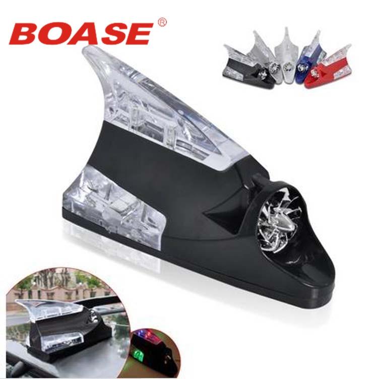 Автомобиль энергии ветра Акульих плавников светодиодные лампы авто украшения автомобиля света стильный беспроводной