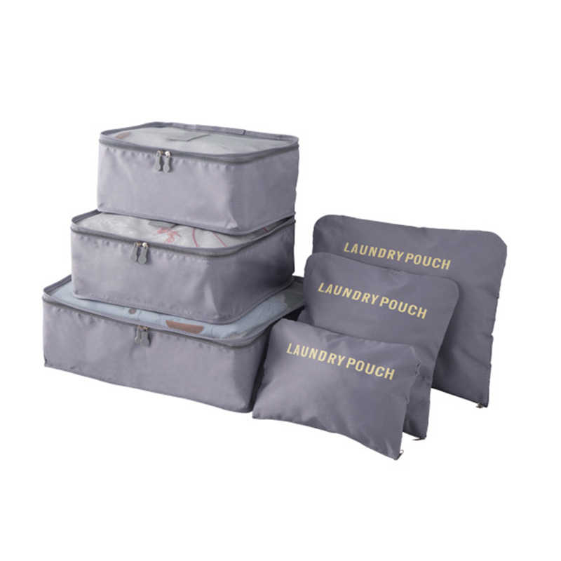 1 комплект многофункциональная дорожная Сумка водонепроницаемая плотная ткань наружная дорожная Портативная сумка коробка для одежды оптовая продажа 6 шт. сумка