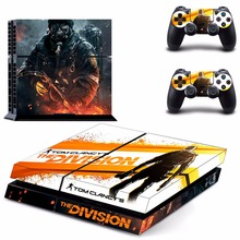 Vinyl Decal Skin Sticker Cover of Tom Clancy's The Division for Sony PS4 PlayStation 4 and 2 controller skins