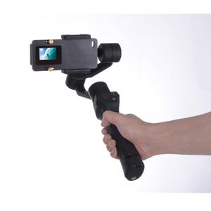 Image 4 - Macchina Fotografica di azione di accessori Stecca di Montaggio per go pro Gopro Hero 6/5/4/3/3 + xiaomi DJI osmo Mobile Giunto Cardanico Handheld Holder nero