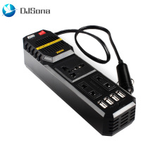 200 W Watts Car Cigarette Inverter 12 V to 220 Volt DC AC Converter 4 USB 3.1A Charger Wave Auto Adapter Voltage Transformer