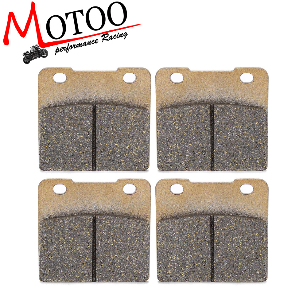Motoo - Motorcycle Front and Rear Brake Pads For SUZUKI VS1400 Intruder Boulevard 1987-2010 VL1500 Legendary 1998-2001 motorcycle front and rear brake pads for yamaha xvs 1300 ctw ctx v star 1300 tourer 2007 2010 black brake disc pad