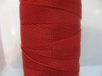 100%ナイロンコード! 656yds赤いビーズのシルクストリングネックレス/ブレスレットジュエリーdiy ·コードの0.9ミリメートル